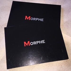 2 LOT MORPHE EMPTY MAGNETIC LARGE PALETTE BUNDLE